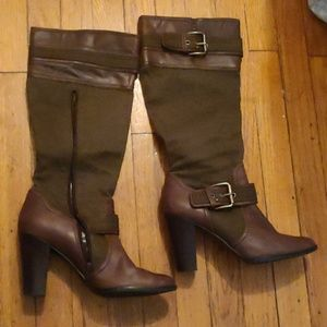 Riding boot heels